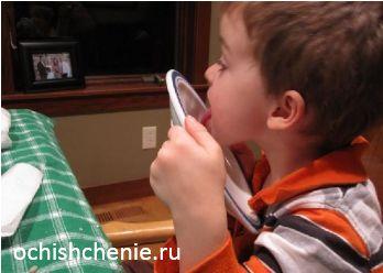 как почистить миндалины